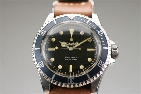 1960 Rolex Submariner Ref 5513 Watch For Sale - Mens ...
