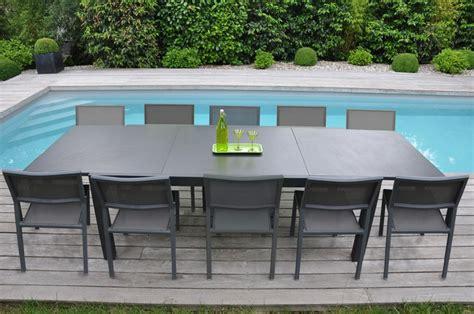 chaise metal jardin awesome table de jardin aluminium et chaise gallery amazing house design getfitamerica us