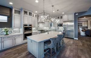 5 kitchen design trends to take from model homes With kitchen cabinet trends 2018 combined with wall art sculptures