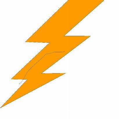 Lightning Bolt Symbol Clipart Clip Thunderbolt Vector
