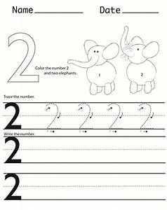 Writing Numbers Worksheets For Kindergarten - tracing ...