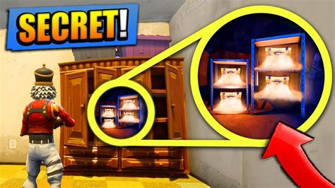 secret loot spots  fortnite battle royale
