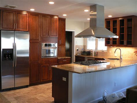 kitchen island with slide in stove can anyone show me a slide in range in a peninsula or island 9453