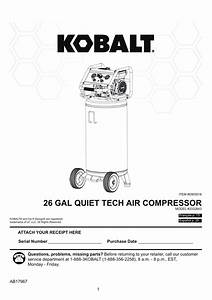 Kobalt 3332644 Quiet Tech 26