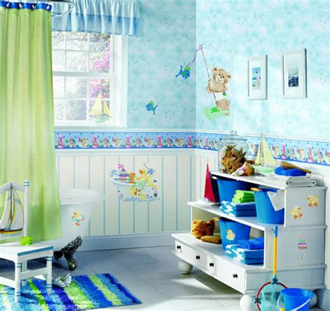 Colorful Kids Bathroom Designs  My Desired Home