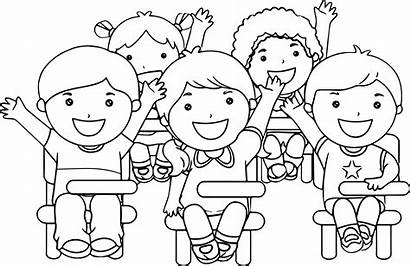 Pages Classroom Activity Coloring Clipart Fun Sheets