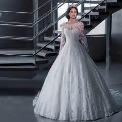 princess gown wedding dress 2016 luxury vintage sleeves wedding dresses gown princess white tulle appliques