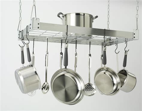 stainless steel pot rack technology of storage