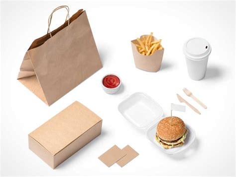 Free paper donut box packaging mock up. Fast Food - PSD Mockups