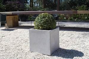 Pflanzkübel Eckig Beton : pflanzk bel blumenk bel block 40x40x40cm aus fiberglas ~ Sanjose-hotels-ca.com Haus und Dekorationen