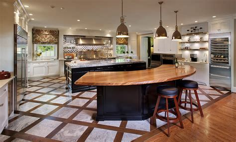 Inexpensive Kitchen Island Countertop Ideas by Zebrawood Bar Top In Lexington Kentucky