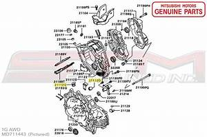 Diagram  2000 Mitsubishi Eclipse Manual Transmission
