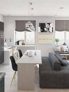 53, best, minimalist, studio, apartment, small, spaces, decor