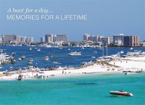 Weekly Boat Rental Destin Fl by Destin Vacation Boat Rentals Boat Rentals In Destin Florida