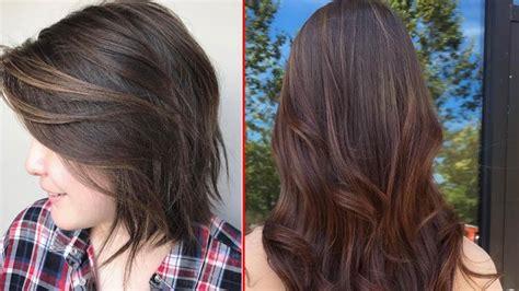 Coloring Rambut Wanita by 10 Ide Cat Rambut Warna Coklat Untuk Cewek Makin Til