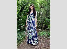Keiko Lynn Banana Republic Maxi Dress, Long Cardigan