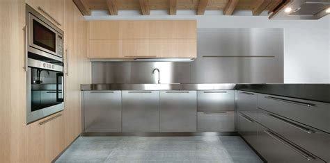 cuisine contemporaine ikea all stainless steel residential kitchen cabinets