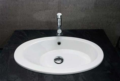 Self-rimming (drop-in) Bathroom Sinks By Barclay