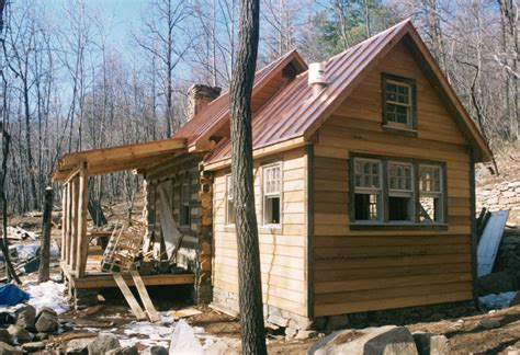 building a log cabin part four of building a rustic cabin handmade houses