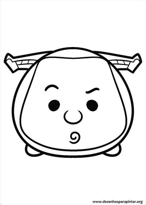 disney tsum tsum desenhos  colorir imprimir  pintar desenhos  pintar  colorir