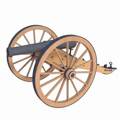 Cannon War Civil Pounder Clipart Pound Napoleon