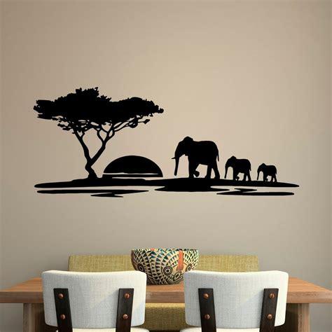 Animal Wall Decal Safari Elephant Decals Safari Wall Decal