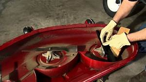 Lawn Mower Blade Maintenance Instructions  Toro Timecutter