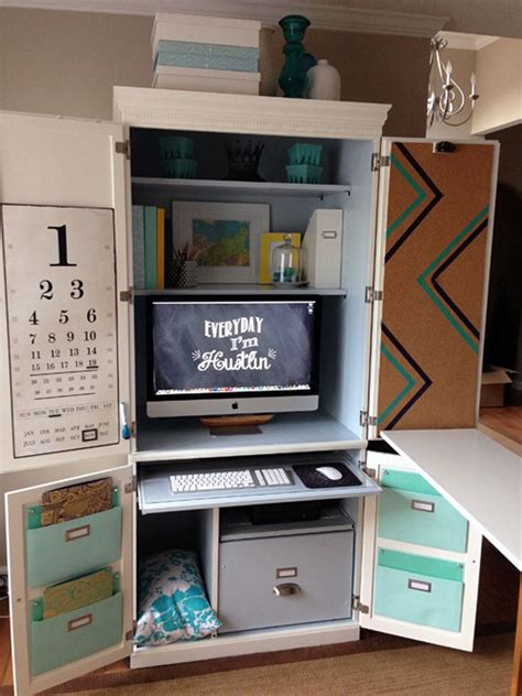 25+ Great Ideas About Computer Armoire On Pinterest
