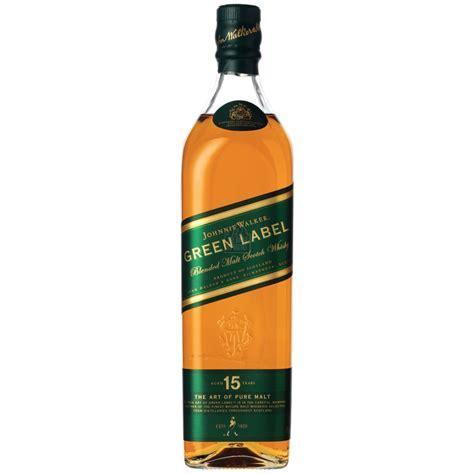 johnnie walker green label  year  blended malt scotch