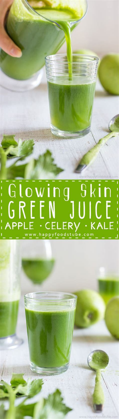 juice recipe skin glowing healthy recipes glow detox ingredients happyfoodstube easy juicing juices tube cleanse happy fresh give drinks health