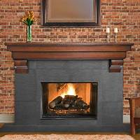 fireplace mantel shelves Excellent Fireplace Mantel Shelves — The Homy Design