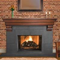 excellent modern fireplace mantel Excellent Fireplace Mantel Shelves — The Homy Design