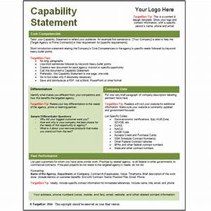 general contractor capability statement related keywords With capabilities statement template