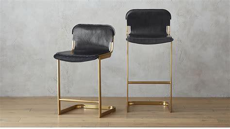 Chair Exchange rake brass bar stools cb2