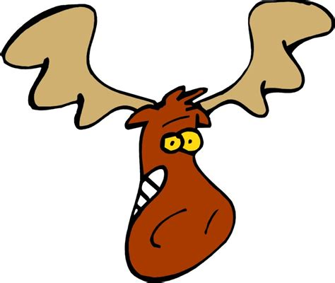 Moose Clip Moose Clipart Clipartion