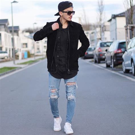 Easy Going Men Skinny Jeans Hot Tight Looks Try