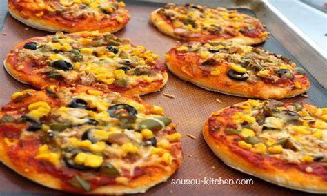 cuisine choumicha recette de pizza mini pizza sousoukitchen