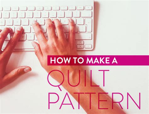 Step By Step How I Make A Quilt Pattern  Suzy Quilts