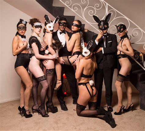 Bondage Lace And Models In Pig Masks Inside La's Most