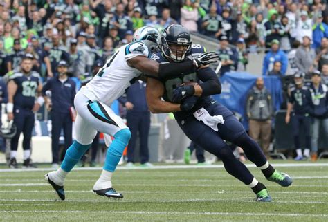 panthers  seahawks   impressions  seattle