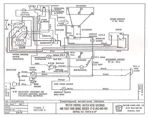 Dunn Wiring Harnes by Dunn B2 48 Wiring Diagram Somurich
