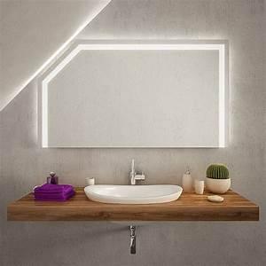 Spiegel Für Dachschräge : gualaca led badspiegel mit dachschr ge online kaufen ~ Sanjose-hotels-ca.com Haus und Dekorationen