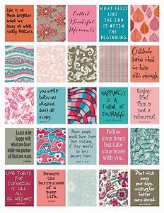 Quotes to Live By stickers for Life Planner Printable ...