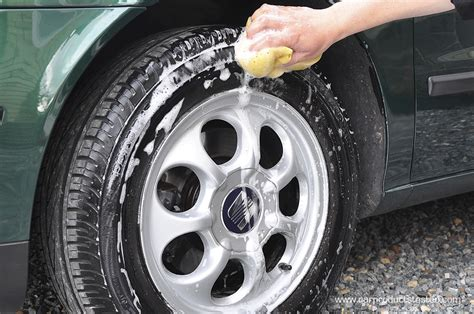 How-to… Use Tire Dressing To Get Your Tires Looking Shiny