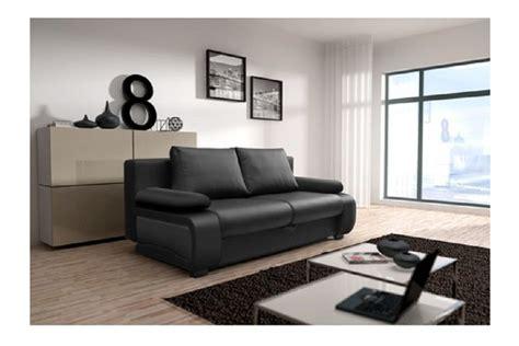 canapé noir et blanc design canapé design convertible billy noir noir blanc canapés