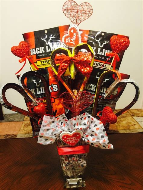 beef jerky bouquet  husband valentines day gift