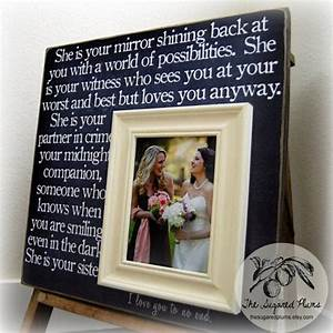 bridesmaid gift best friend sister maid of honor With wedding gift from maid of honor