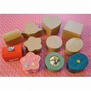 Boite En Carton À Décorer : boite d corer boite en carton d corer atelier du loisir cr atif ~ Melissatoandfro.com Idées de Décoration