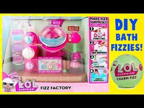 lol surprise dolls diy fizz factory maker  charm toy