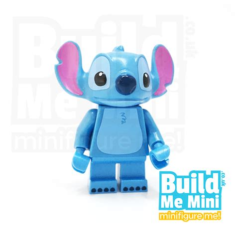 lego disney stitch minifigure series  personalised lego